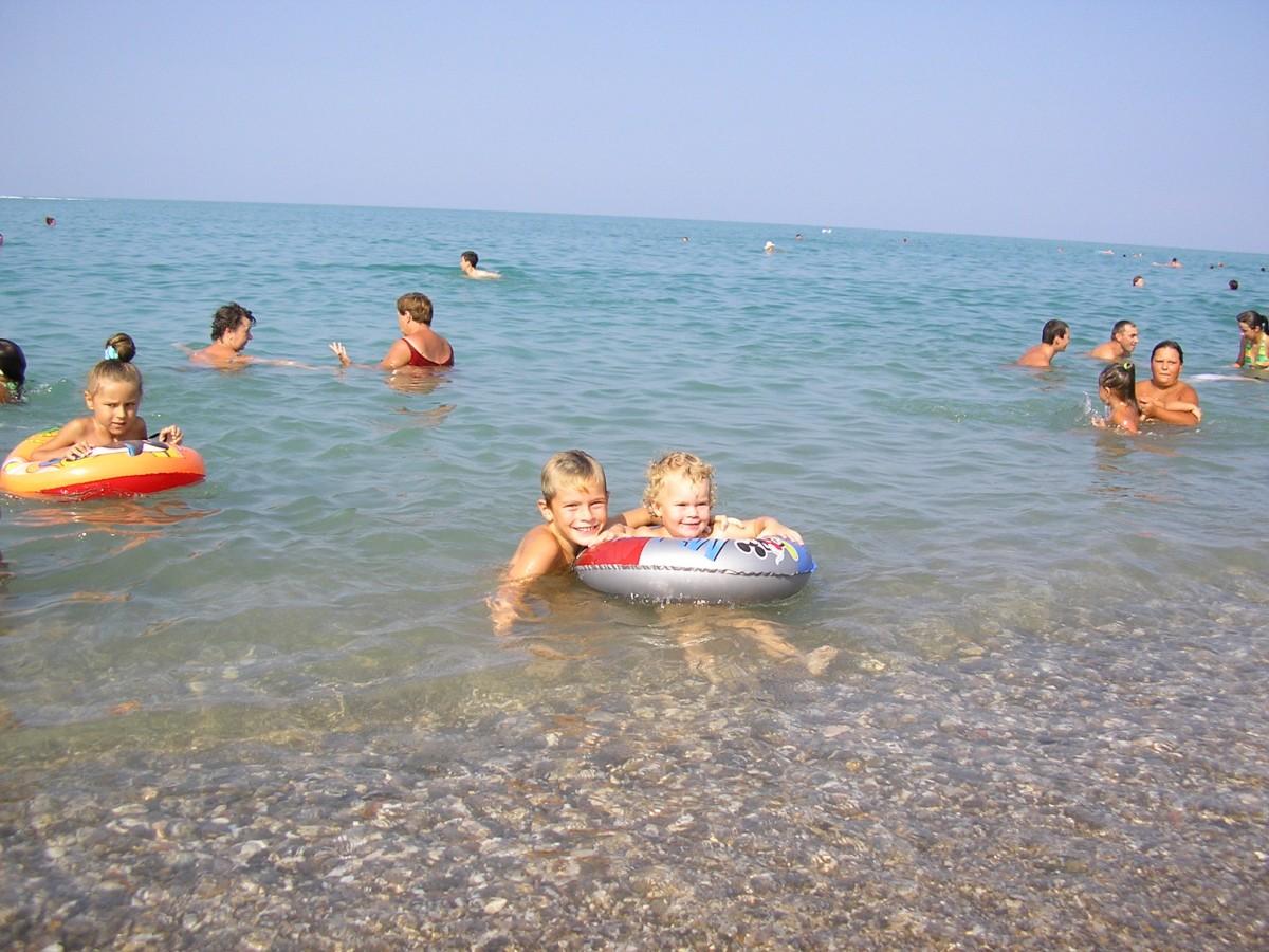 Семейный отдых с детьми в Николаевке Крым